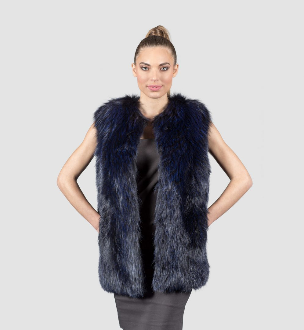 Products contain only real fur either ranch raised, or from a country who governs the standards of sustainable fur products, and are labeled to show country of origin. Fur is a natural product; color and length can vary amongst garments. Prices online do not reflect prices in store, and may vary due to market fluctuation.