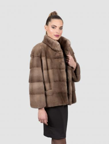 Mink Pastel Fur Jacket
