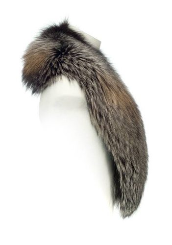 Gold Frost Fox Fur Collar