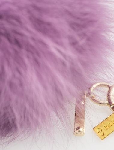The Kendall Fur Keychain