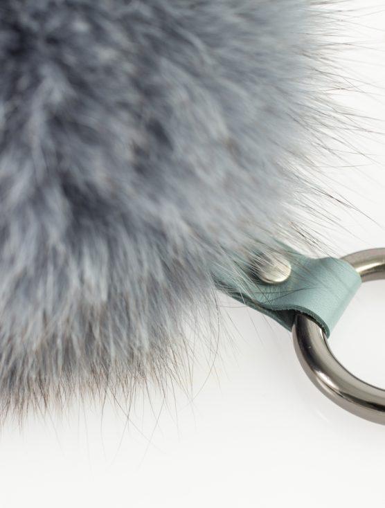The Silver Fur Keychain