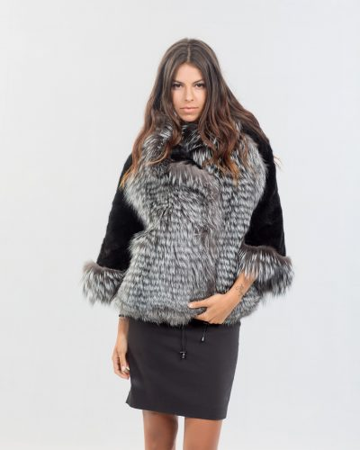 315b12ddf71 Silver Fox Fur Jacket ...