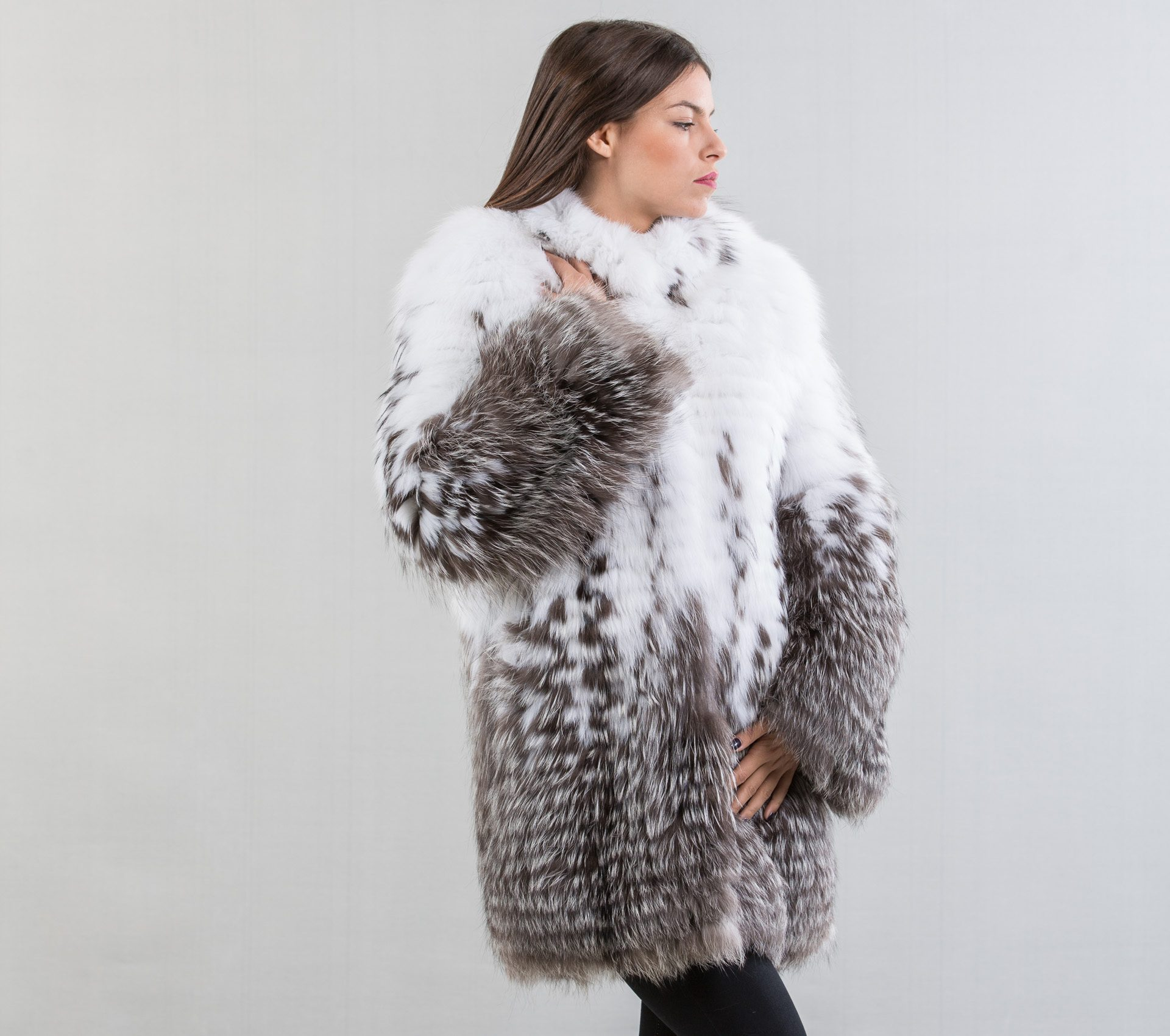 White fox fur - photo#12