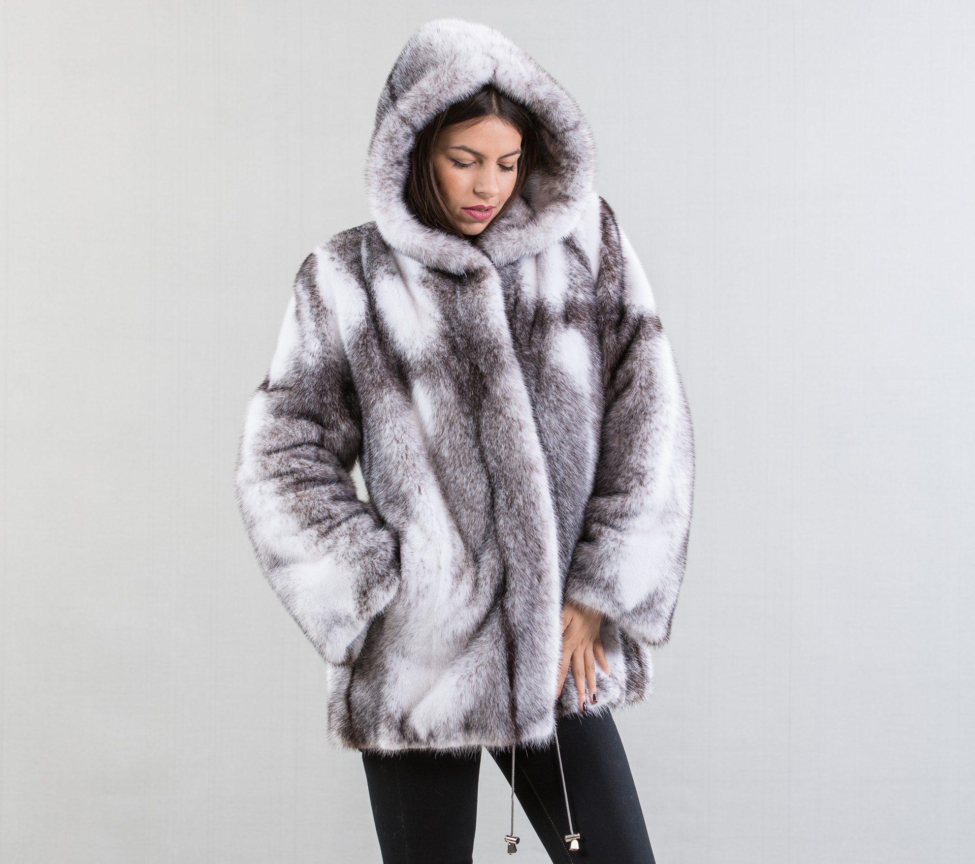 black cross mink fur jacket 100 real fur coats and