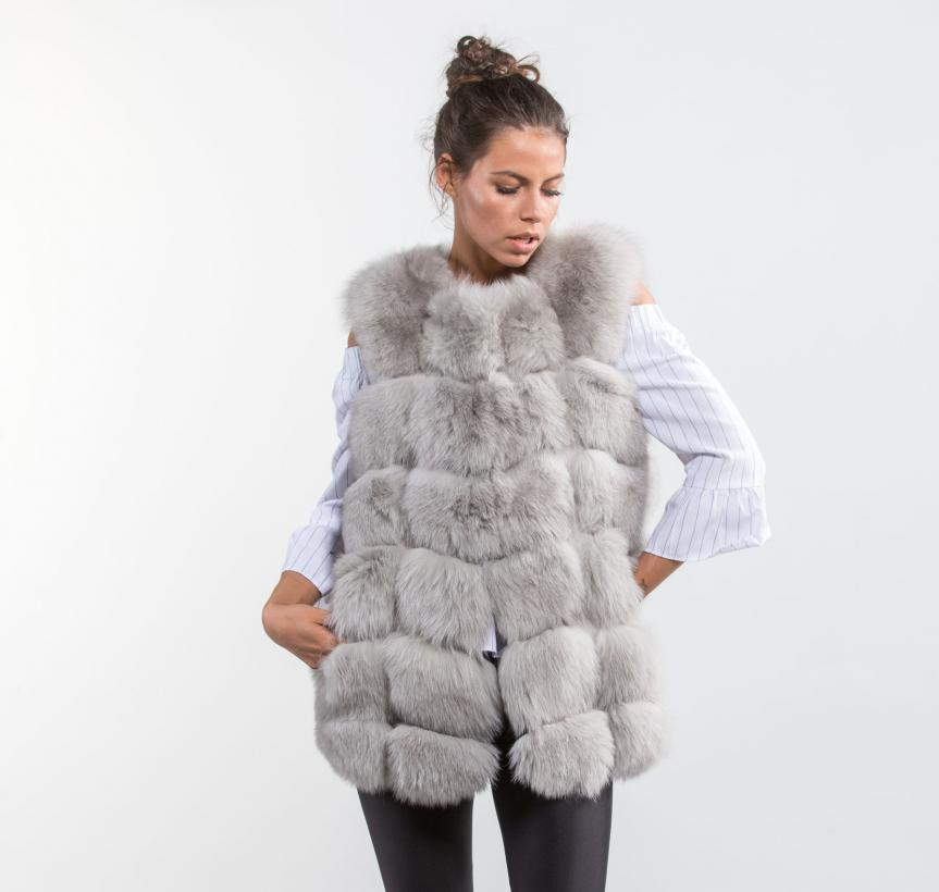 Find great deals on eBay for Grey Faux Fur Vest in Vests, Shoes and Women Clothing. Shop with confidence. Find great deals on eBay for Grey Faux Fur Vest in Vests, Shoes and Women Clothing. Woman's large Grey/black Faux Fur Vest By Maurices as seen in photos. BKE Juniors Women's Grey Faux Fur Crochet Vest sz Medium. $ Buy It Now. or.