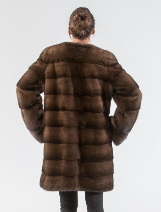 Demi Buff Mink Fur Jacket