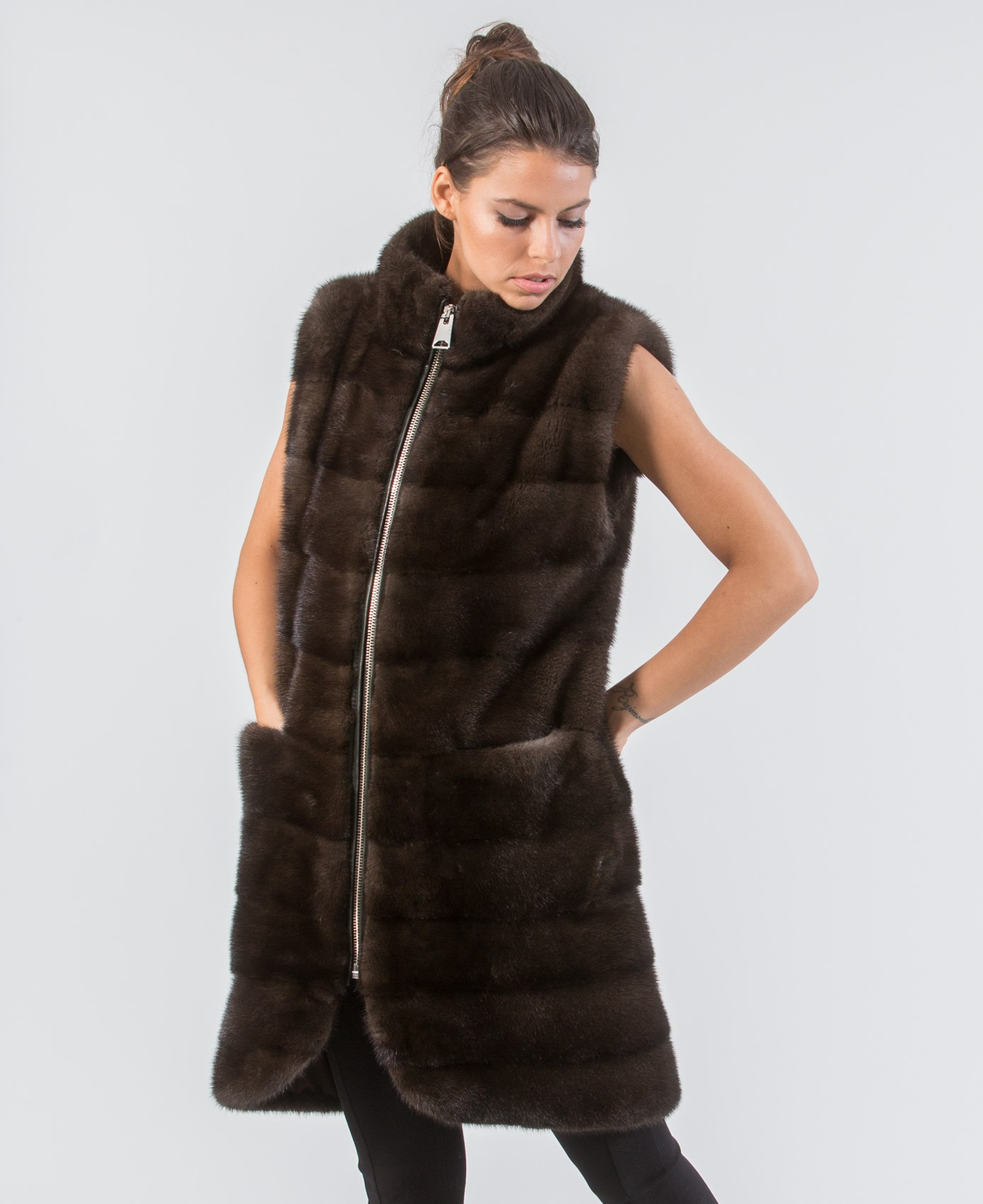 About Long Faux Fur Vest Getting the lush look and feel of fur without the costs of real fur is a