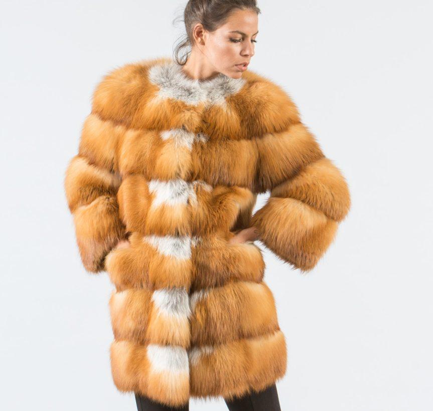 Canadian Red Fox Fur Jacket 4