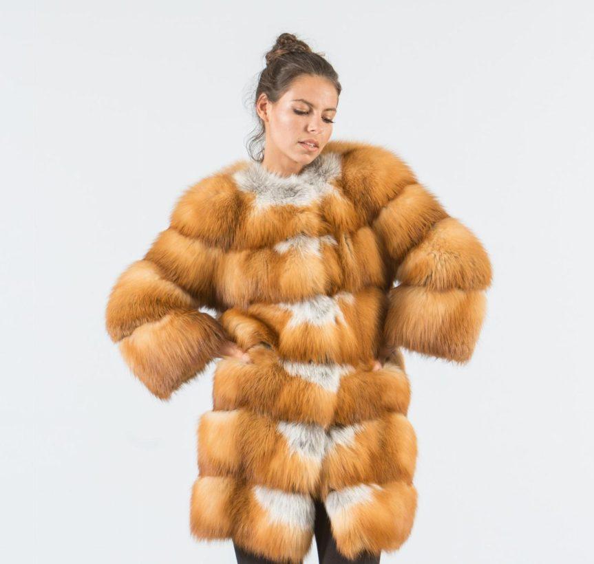 Canadian Red Fox Fur Jacket 5