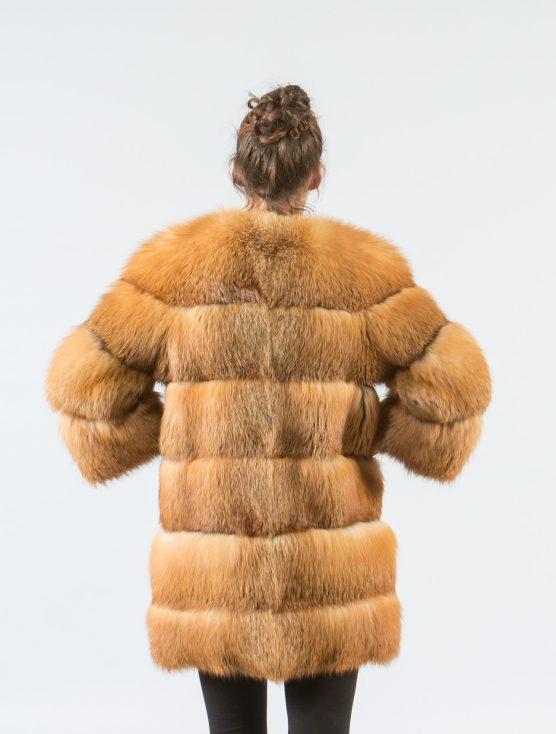 Canadian Red Fox Fur Jacket