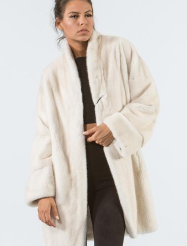 Pearl Mink Fur Jacket