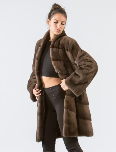 Star Light Mink Fur Jacket