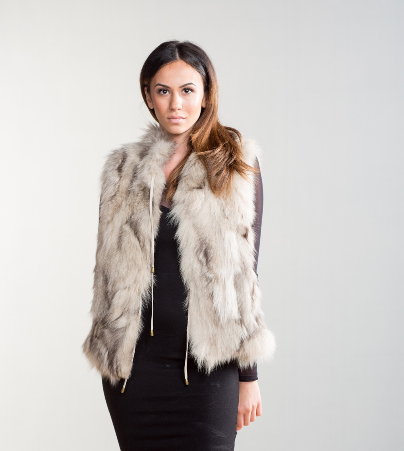 The image of the long and curvy haired fox fur garment is the first one to come in mind to the majority of people when they hear the word fur. It is the second most sold fur, .