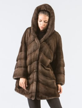 Forest Green Fox Fur Vest