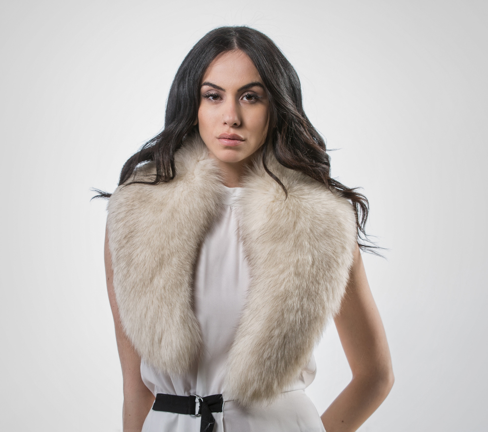 how to clean fox fur collar at home