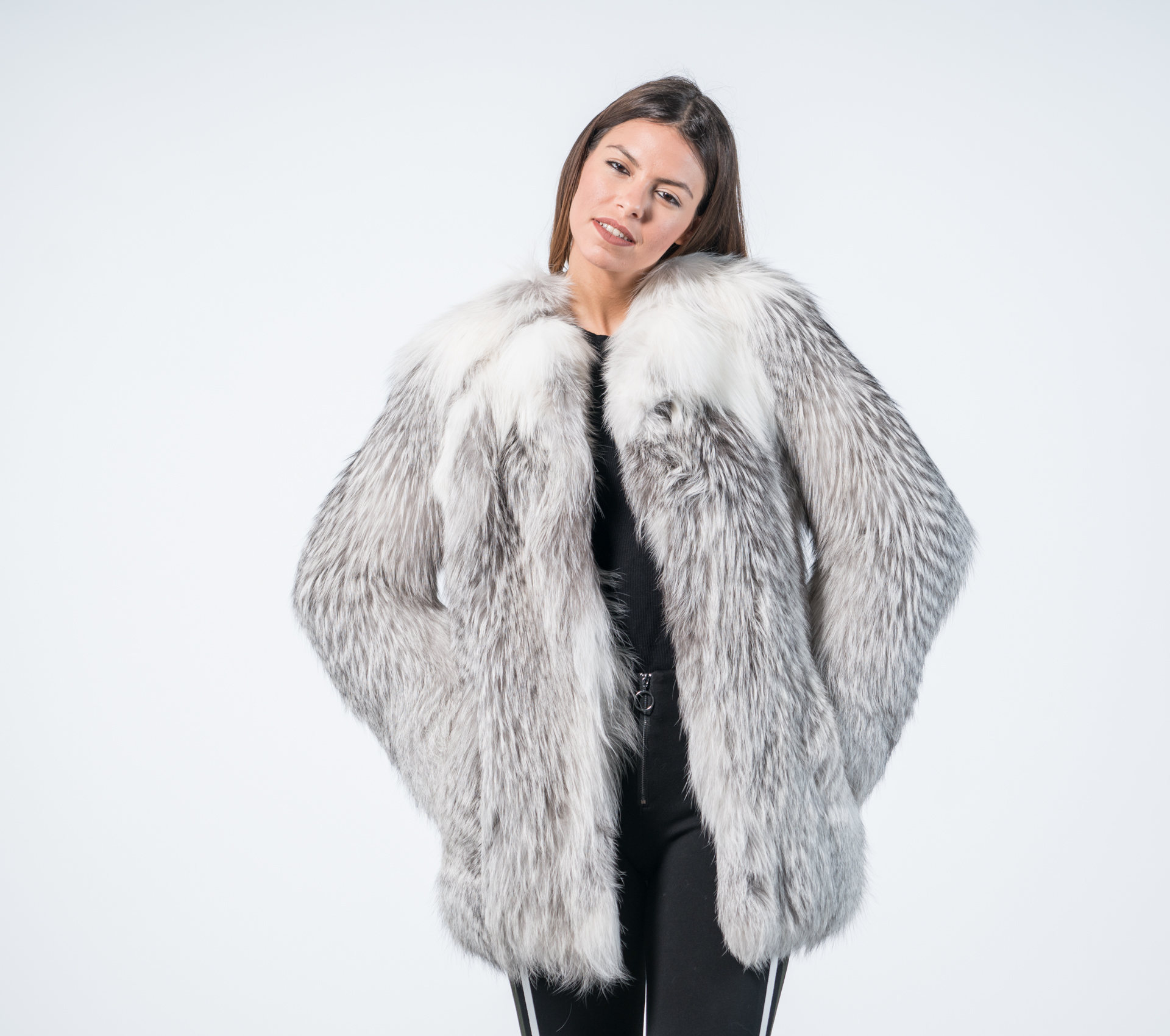 af0c5d5a9 Marble Fox Fur Coat Womens Marble Fox Fur Coat Womens ...