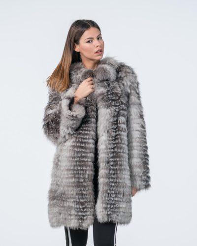 db998107839b Blue Frost Fur Jacket ...