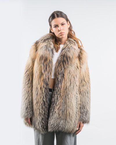 Fox Fur Coat Jacket And Vests, White Fox Fur Coat Cost